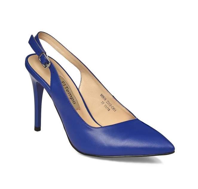 Туфли женские El Tempo WAN49_Z313-C451 синие 41 EU