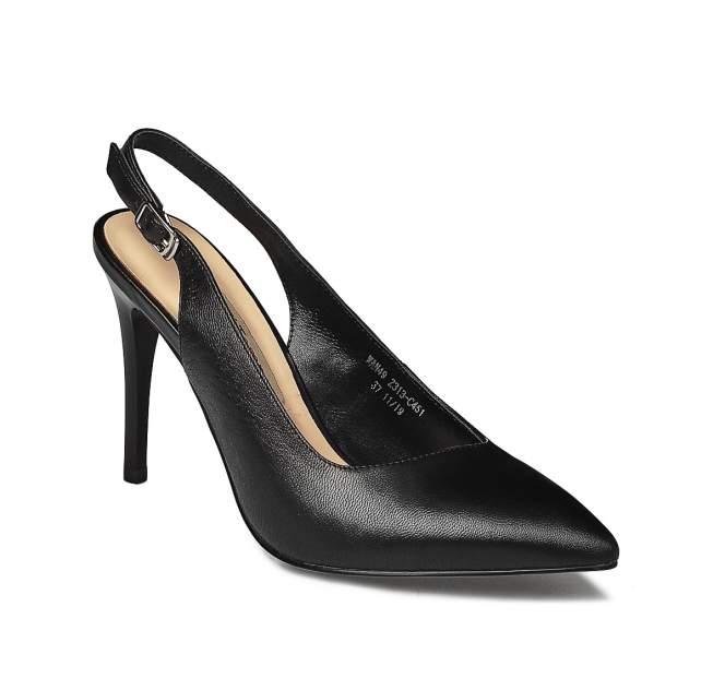 Туфли женские El Tempo WAN49_Z313-C451 черные 41 EU