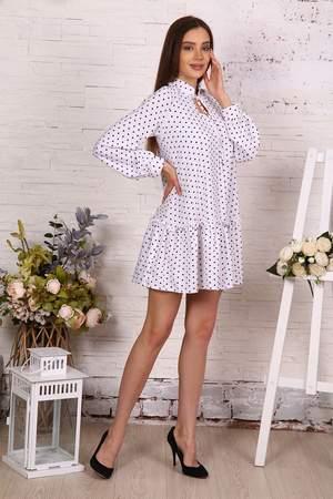 Женское платье Миллена Шарм 25014, белый