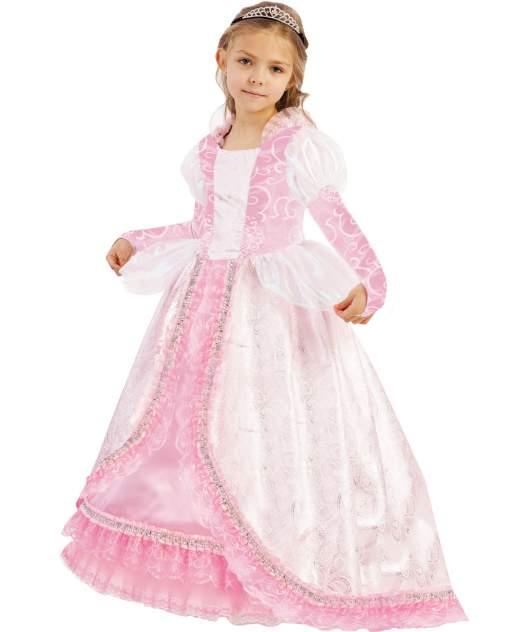 Карнавальный костюм Батик Принцессы Дисней; Золушка, цв. розовый р.134