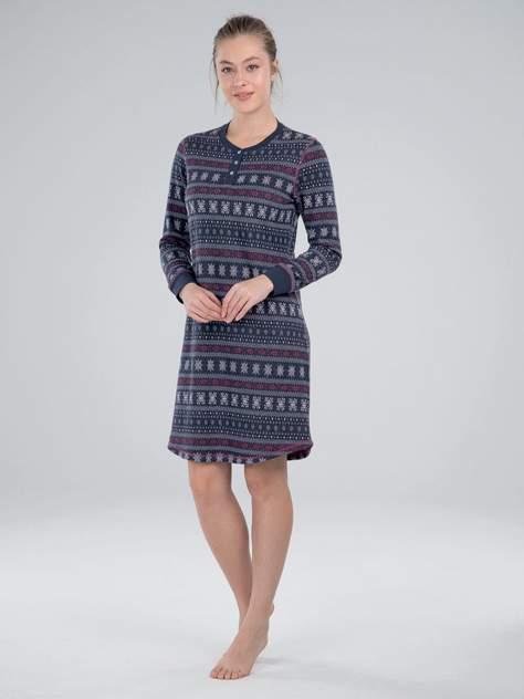 Ночная сорочка женская BlackSpade BS50032 синяя XL