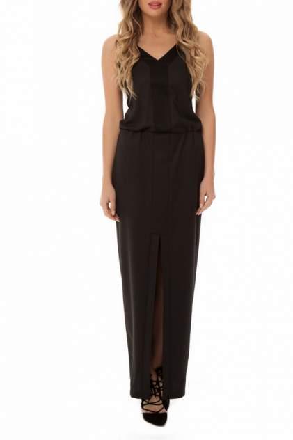 Платье женское Gloss 18318(01) черное 40 RU