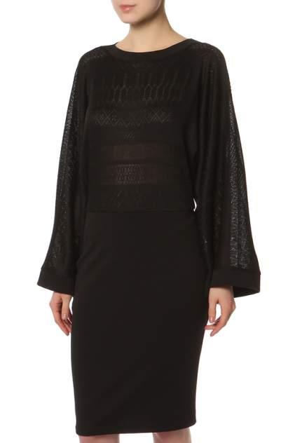 Платье женское Adzhedo 41669 черное 4XL