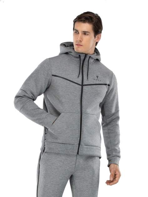 Толстовка мужская FIFTY FA-MJ-0103, серый