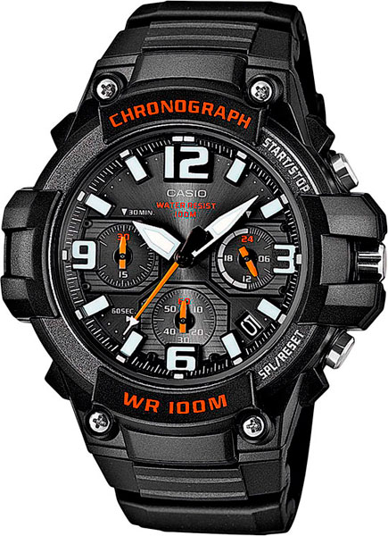 Наручные часы кварцевые мужские Casio Collection MCW-100H-1A