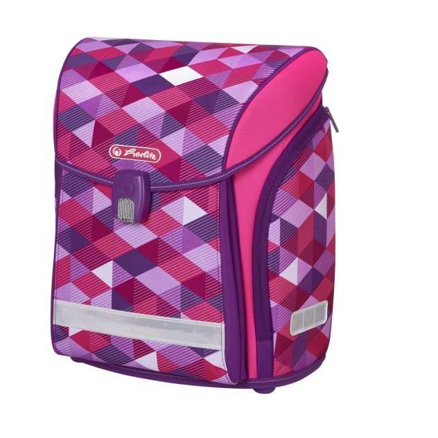 Ранец детский Herlitz New Midi Pink Cubes