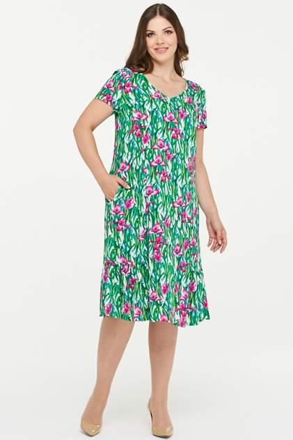 Женское платье VAY 181-3433, зеленый