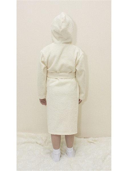 Халат детский Осьминожка, цв. бежевый р.116