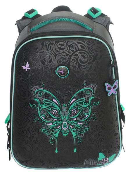 Рюкзак детский Hummingbird Бабочка для девочек Черный T20