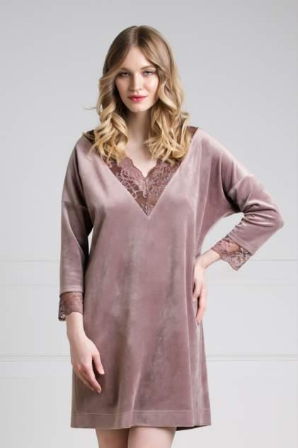 Домашнее платье женское Laete 20272-2 коричневое 2XL