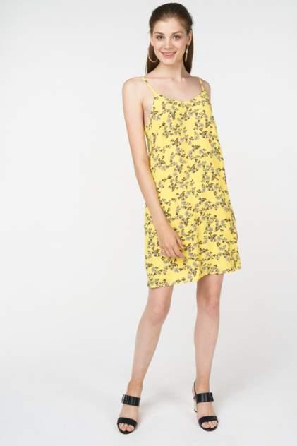 Платье-комбинация женское Vero Moda 10212306 желтое S