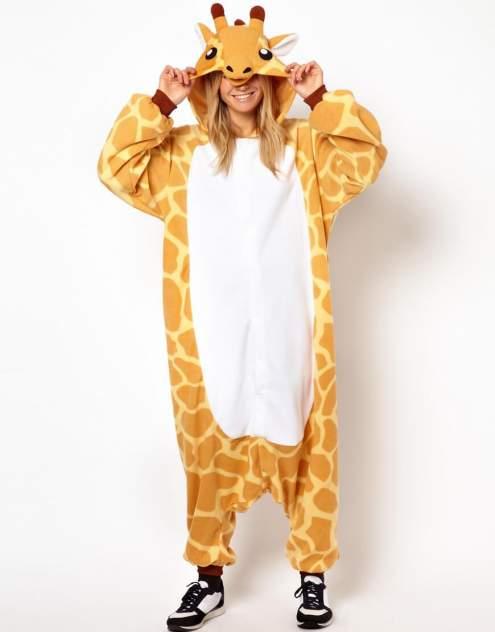Кигуруми Multi-Shops Жираф, оранжевый