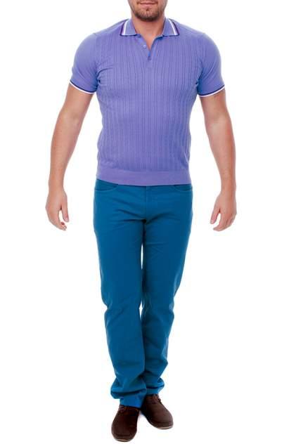 Поло мужское CUDGI CTS18-16 фиолетовое 60 IT