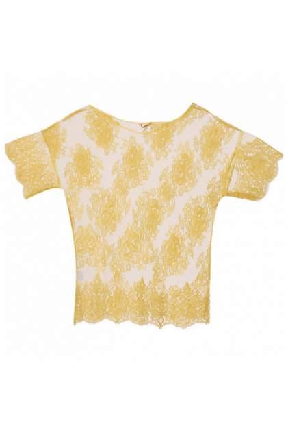 Блуза женская P.A.R.O.S.H. 65978 желтая L