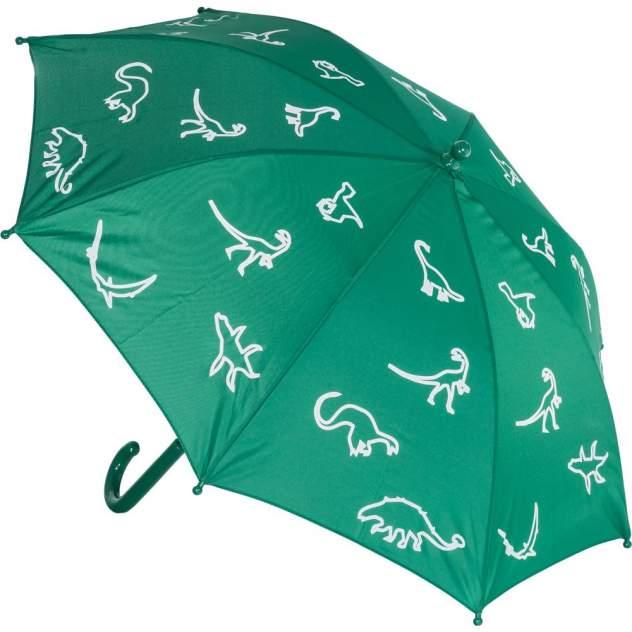 Зонт детский Котофей для мальчика зеленый