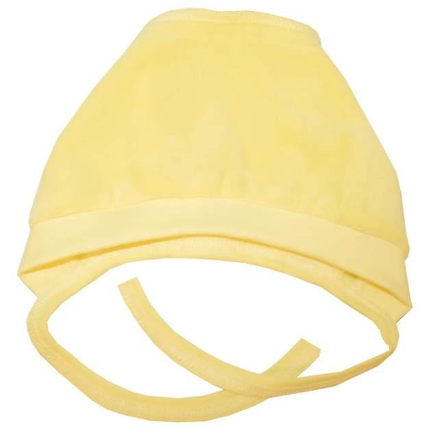 Чепчик Папитто желтый однотонный р.40 И53-123