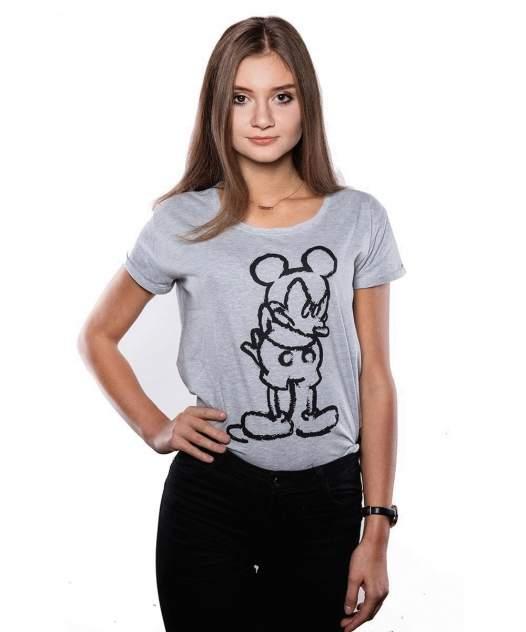 Футболка Good Loot Disney Angry Mickey, серый, L INT