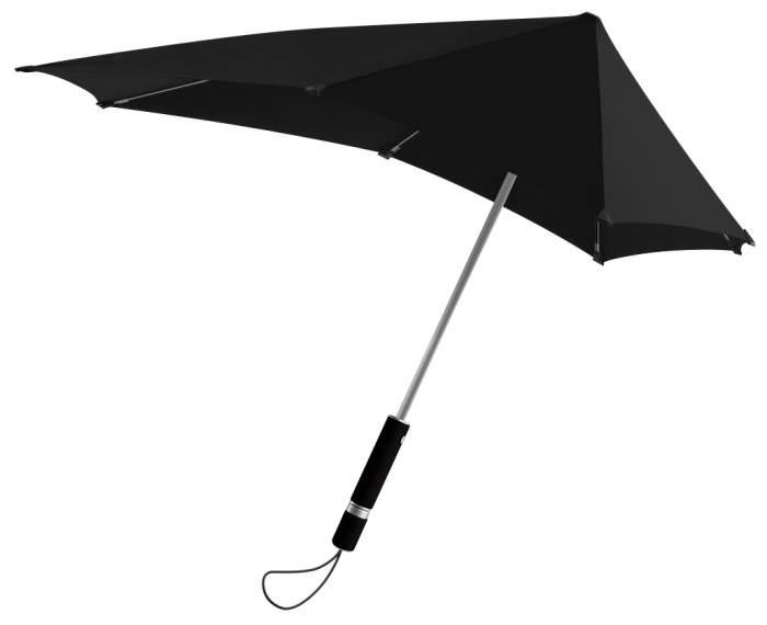 Зонт гольфер унисекс полуавтоматический Senz 2011046 черный