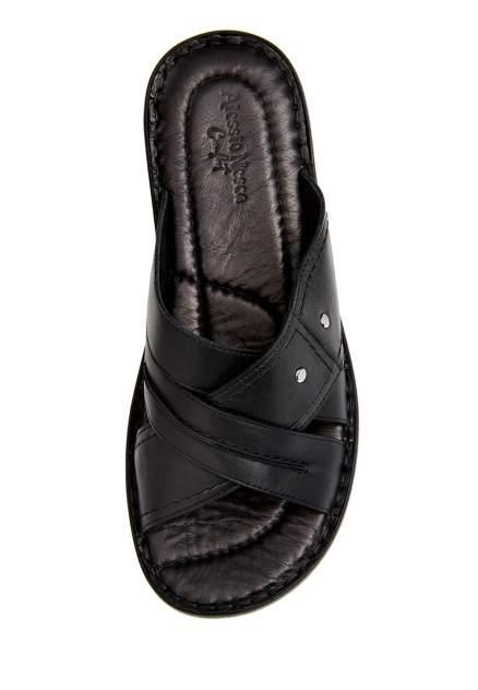 Шлепанцы мужские Alessio Nesca Comfort 710018079 черные 40 RU