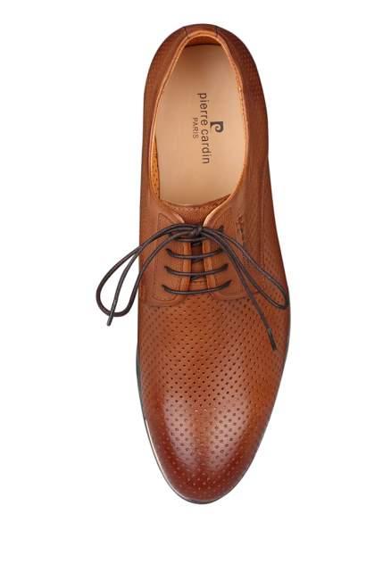 Туфли мужские Pierre Cardin 03806120 коричневые 43 RU