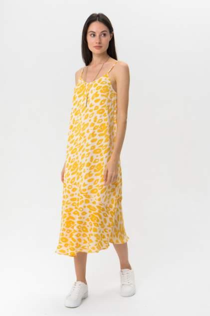 Платье женское ICHI 20109187 разноцветное S