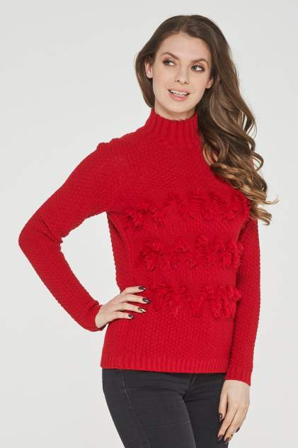 Джемпер женский VAY 192-4965, красный