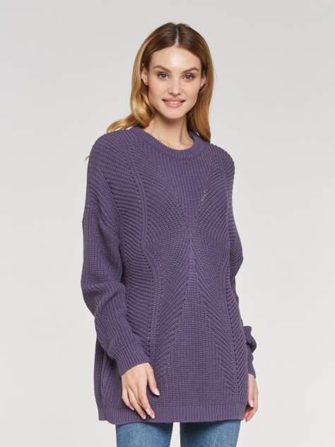 Свитер женский VAY 192-4091 фиолетовый 56 RU