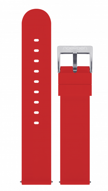 Ремешок для часов Noerden PAB-0006 красный 20 мм