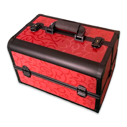 Бьюти кейс для косметики CWB7350 черный с красным