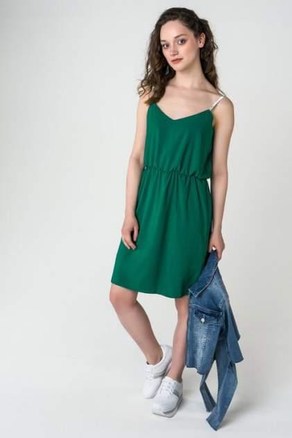 Платье женское LA VIDA RICA D71033 зеленое 46 RU