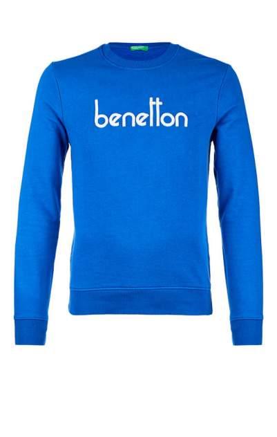 Свитшот мужской United Colors of Benetton синий 56