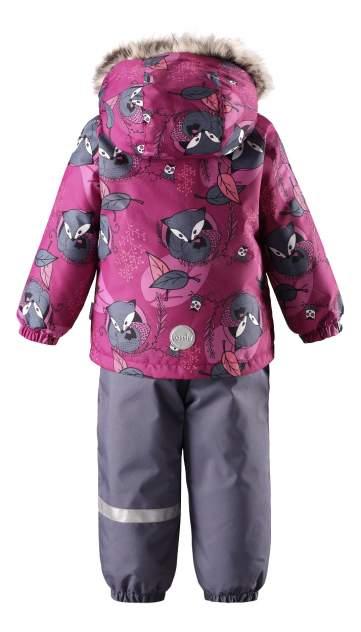 Комплект верхней одежды Lassie, цв. розовый; синий р. 80