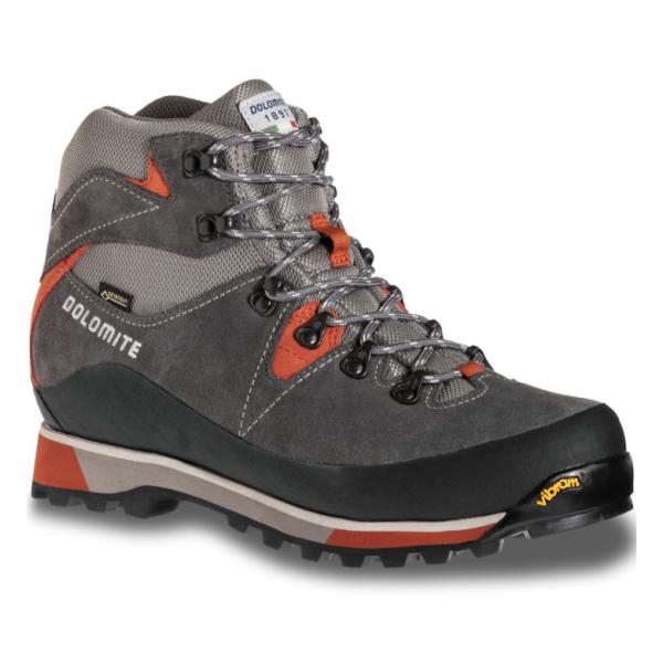 Ботинки Dolomite Zermatt GTX 2019, graphite grey/orchre red, 11 UK
