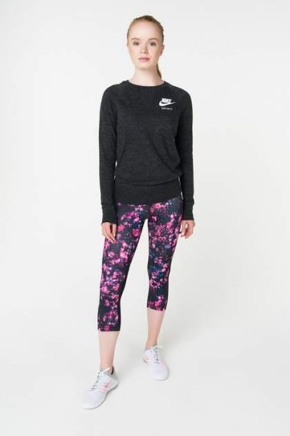 Лонгслив женский Nike 883725-010 черный 48 USA