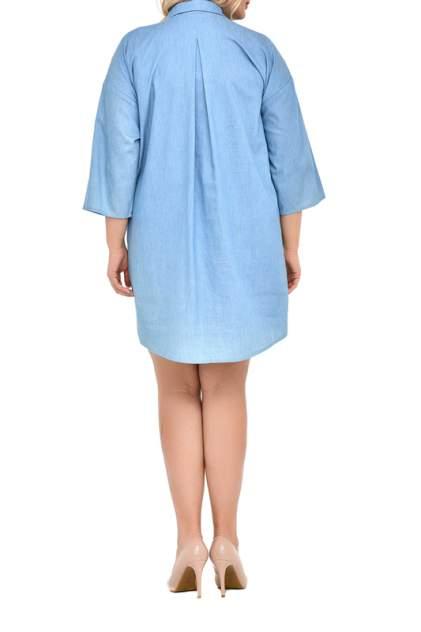 Платье женское SVESTA R738DEN голубое 58 RU