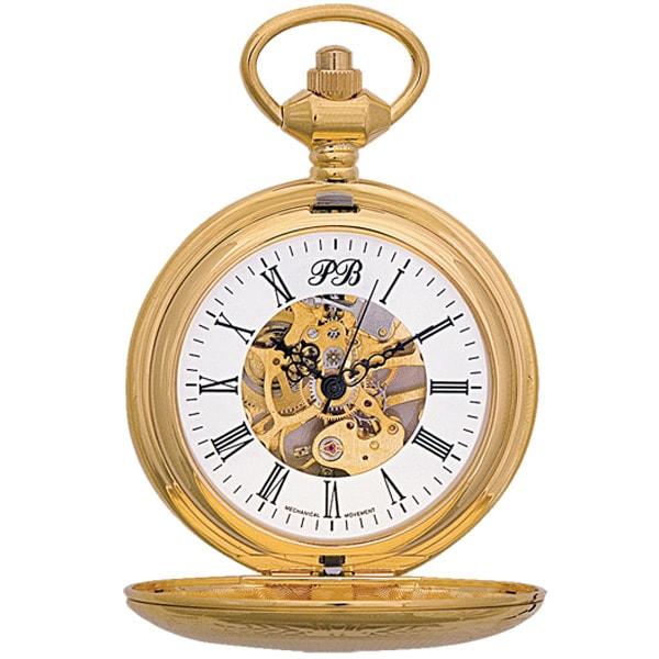 Карманные часы мужские Русское время 2136879 золотистые