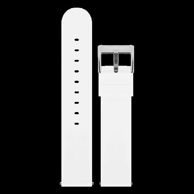 Ремешок для часов Noerden PAB-0005 белый 20 мм