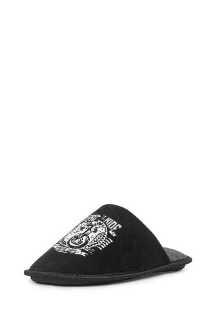 Шлепанцы мужские T.Taccardi M0258002 черные 40 RU