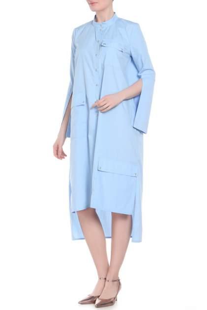 Платье женское Adzhedo 41494 голубое 3XL