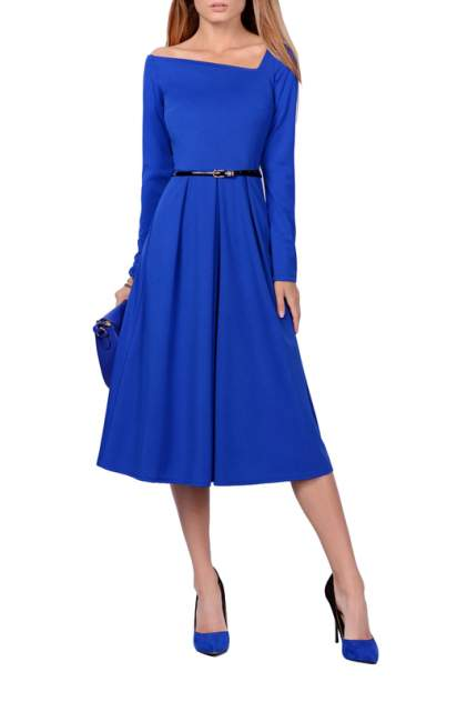 Платье женское FRANCESCA LUCINI F0732-2 синее 42 RU