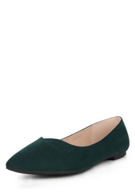 Балетки женские T.Taccardi 710018273, зеленый