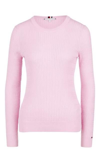 Джемпер женский Tommy Hilfiger WW0WW25251 503 pink lavender, розовый