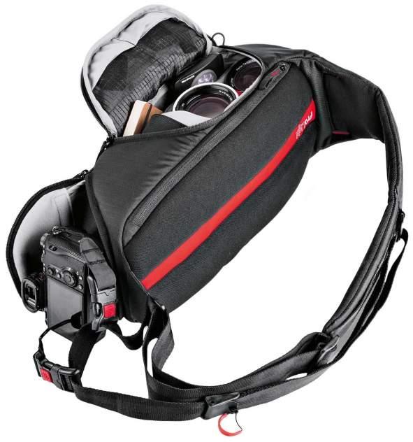 Рюкзак для фототехники Manfrotto Pro Light FastTrack-8 черно-красный