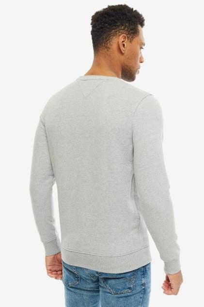 Свитшот мужской Tommy Jeans DM0DM06589 038 серый 2XL