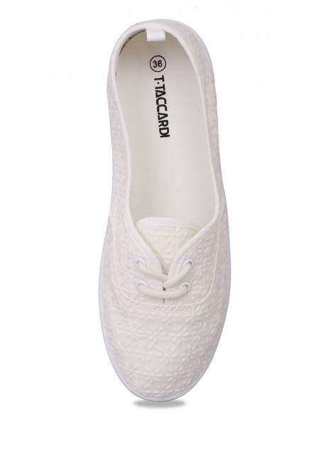 Кеды женские T.Taccardi 710018771 белые 40 RU