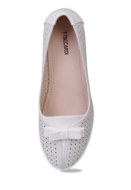 Туфли женские T.Taccardi 27306160 серебристые 36 RU