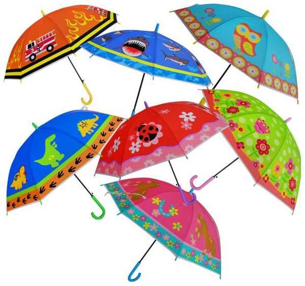 Детский зонт Shantou Gepai UMT50 RIS цветной 50 см