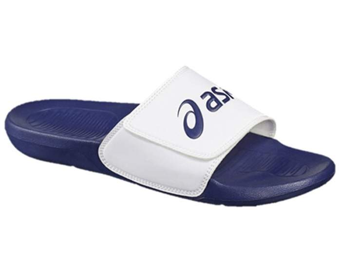 Шлепанцы мужские Asics Sandals P72NS белые 41 RU