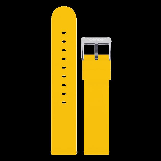Ремешок для часов Noerden PAB-0007 желтый 20 мм