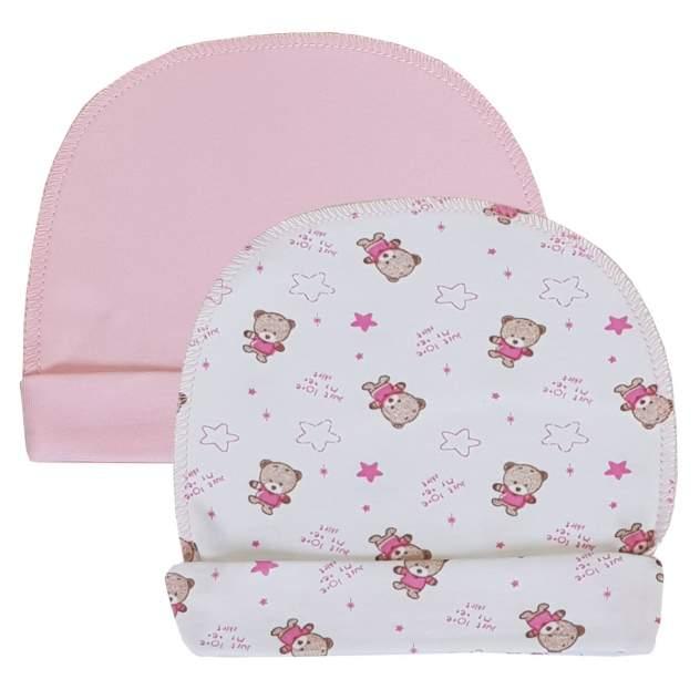 Чепчик детский Папитто, цв. розовый
